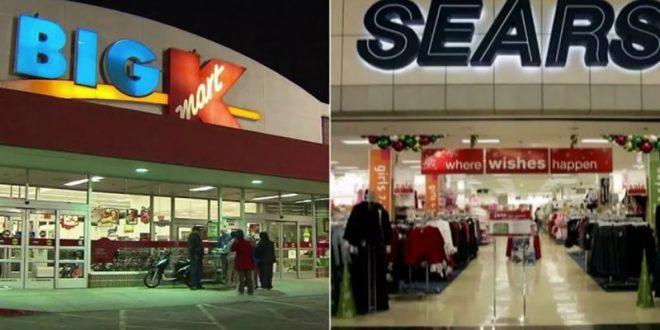 Cerrarán más tiendas Sears y Kmart en octubre